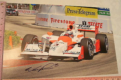 Original Photo Indy Team Penske #3 Signed Photo Will Power Large 12 x 18 inches