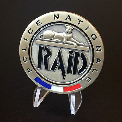B59 French France Police Nationale RAID Challenge Coin