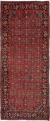"""Hand-knotted Persian Carpet 4'0"""" x 9'10"""" Persian Vintage Wool Rug...DISCOUNTED!"""