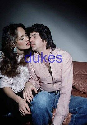 the DUKES OF HAZZARD #775,CATHERINE BACH,ROBERT SHIELDS,BARECHESTED,candid photo