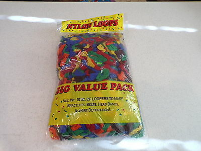 1 Pound Cotton Blend Weaving Loops For Looms Finger Weaving Variety Colors Nip