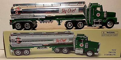 Texaco Taylor Made Trucks Plastic Gasoline Tanker With Light's and Sound