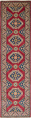 """Hand-knotted Carpet 2'8"""" x 10'6"""" Traditional  Wool Runner Rug"""