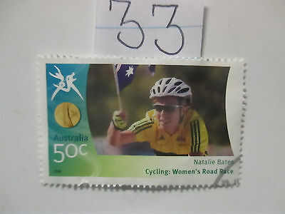 N o -33--2006 COMMONWEALTH  GAMES  -USED  50c  VALUES  ---A1  ORDER