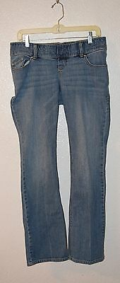 Old Navy brand Maternity Jeans - Boot Cut with woven Belly - Sz 2 Regular - EUC