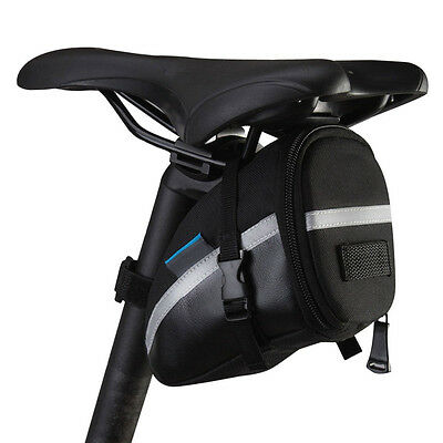 Waterproof Bike Saddle Bag Cycling Seat Pouch Bicycle Tail Rear Pannier NEW