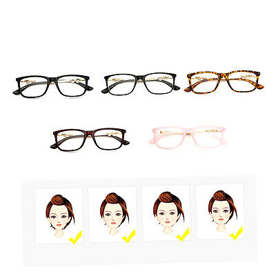 Trendy Eyeglasses Metal+PC Frame With Pearl Decoration Plain Glass Spectacles F3