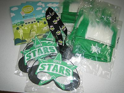 Melbourne Stars BBL Cricket Supporters Lot Free Post