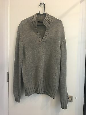 French Connection Mens Grey Jumper Size L