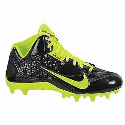 Nike Speedlax 4 Lacrosse Cleats 616299 007 Anthracite Volt Size 4 Y Youth