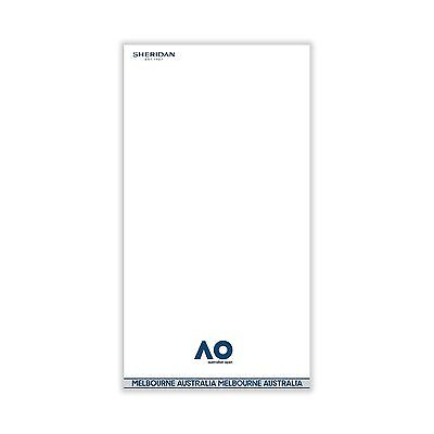 Australian Open 2017 On Court Towel white