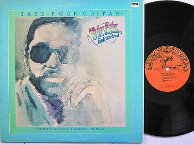 MICKEY BAKERS FUNK TIME BAND LP, JAZZ-ROCK GUITAR (KICKING-MULE US Issue EX/EX)