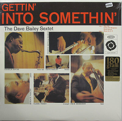 DAVE BAILEY SEXTET 180g LP, GETTIN' INTO SOMETHIN'  (EPIC US Issue NM/NM)