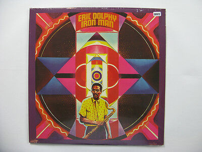 ERIC DOLPHY LP, IRON MAN (CELLULOID  US Issue NM/NM)