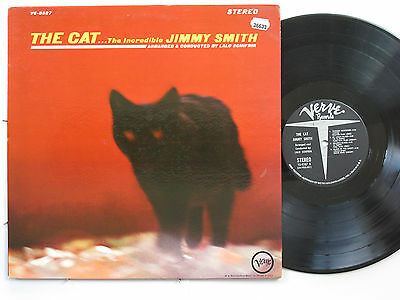 JIMMY SMITH LP, THE CAT (VERVE US Issue EX/VG)