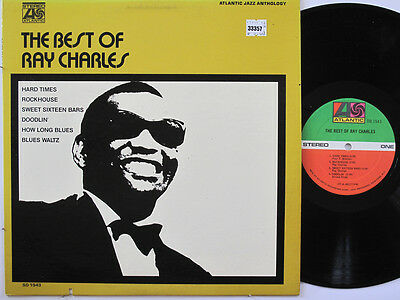 RAY CHARLES LP, THE BEST OF (ATLANTIC US Issue EX/EX)