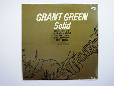 GRANT GREEN LP, SOLID (BLUE NOTE US Issue NM/NM)