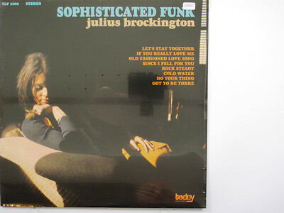 JULIUS BROCKINGTON LP, SOPHISTICATED FUNK (TODAY US Issue NM/NM)