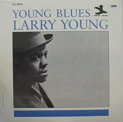 LARRY YOUNG LP, YOUNG BLUES (NEW JAZZ US Issue NM/NM)