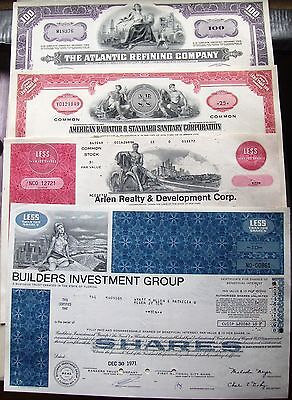 25 different @ your choice. US stock certificate & bond @65c