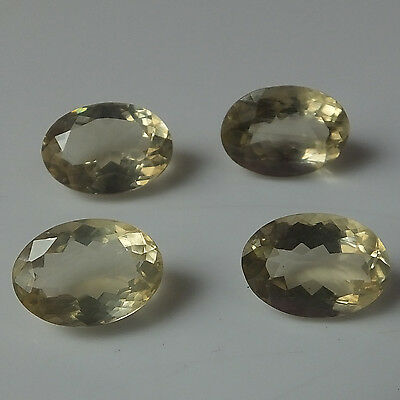 10X14 MM Oval Cut Natural Labradorite Feldspar Faceted Gemstone 4 Pieces Lot