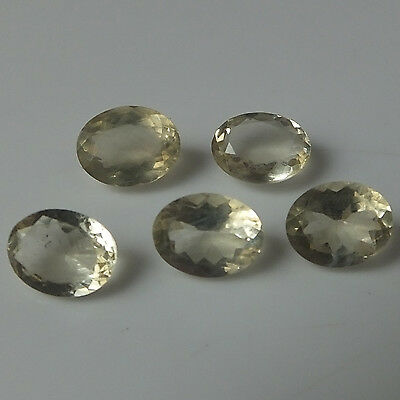 7X9 MM Oval Natural Labradorite Feldspar Faceted Gemstone 5 Pieces Wholesale Lot