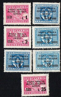 Yugoslavia. 1945-1947 Army post stamps. MH