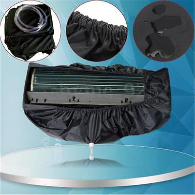 1.5-2P Air Conditioner Cleaning Dust Washing Waterproof Cover + 2.5m Water Pipe