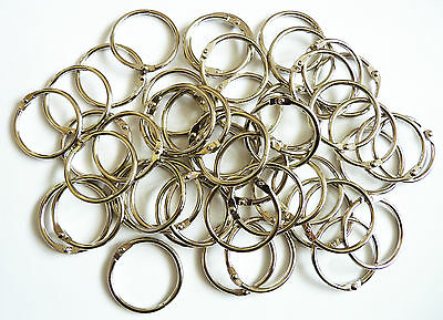 Metal Binding Rings in sizes 14mm - 50mm and in Packs 4,10,20,50,100,and 250