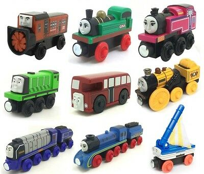 NEW RARE WOODEN magnetic THOMAS and friend The Tank Engine Train 78 style choose