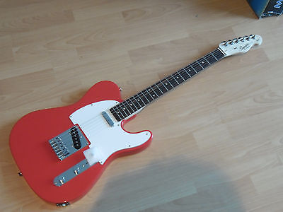 Fender Squier TELECASTER Affinity RACE RED (NEW COLOR)  chitarra elettrica