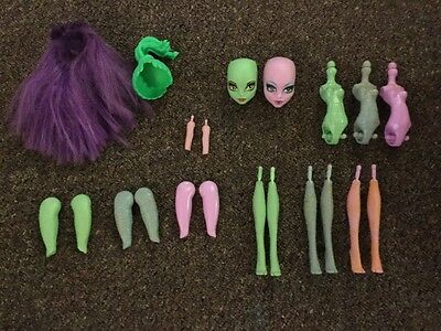 Assorted monster high parts