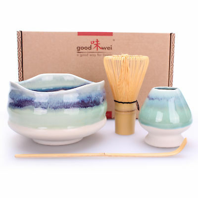 "Goodwei Deluxe Matcha-Set ""Sumi"" 80 mit Chasentate"