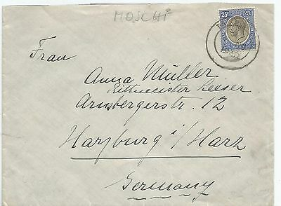Tanganyika 1930 Cover Sent To Germany See Scans