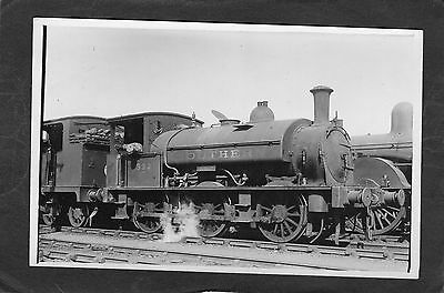 SR loco No. E332 @ EASTLEIGH in 1924  -Commercial P/C -RP UNUSED