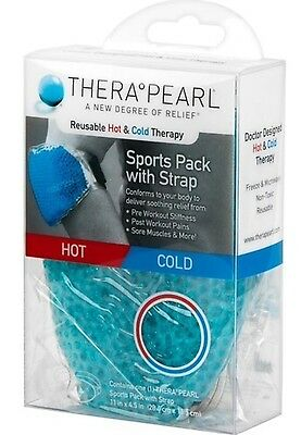 Therapearl Sports Pack With Strap Hot & Cold Therapy. Reusable.