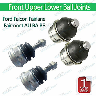 Falcon AU BA BF Ball Joints Kit Ford Fairlane Fairmont Upper Lower Front Petrol