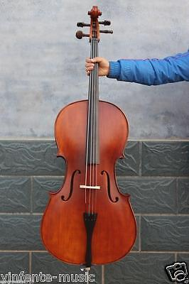 4/4 cello Spruce top Solid wood Powerful Sound Cello bow Cello parts