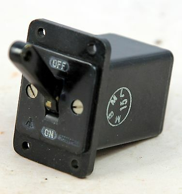 Ignition master switch for RAF Mosquito aircraft (GB8)