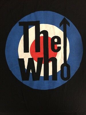 THE WHO Tour Tshirt British Summer Time Hyde Park 2015 Size XL Target NEW