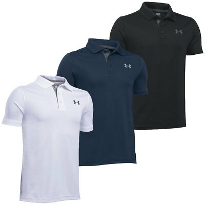 Under Armour 2017 Boys Performance HeatGear Junior Golf Polo Shirt
