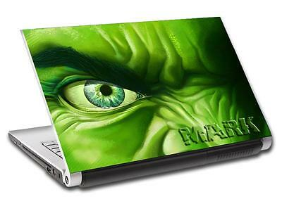 Hulk The Avengers Personalized LAPTOP Skin Vinyl Decal Sticker WITH NAME L30