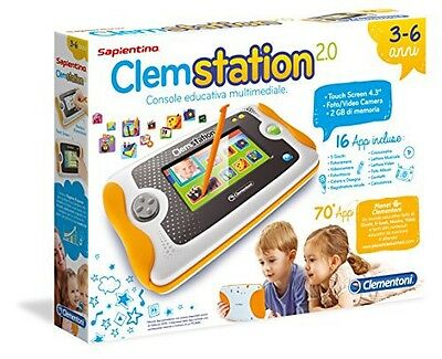 Clementoni Sapientino Clem Station Console Educativa Multimediale Touch Bambini