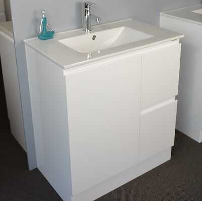 Bathroom Vanity with AA Grade Ceramic Top - 750mm