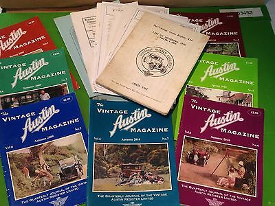 A job lot of The Vintage Austin Magazines