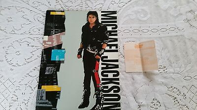 Michael Jackson World Tour Programme And Ticket for Wembley 1988