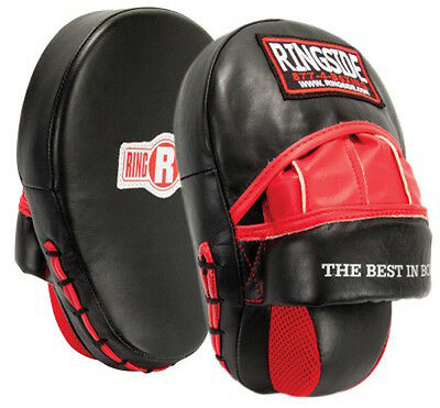Ringside Boxing Long Wedge Panther Punch Mitts