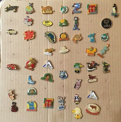 44 Collectable Enamel Pin Badges