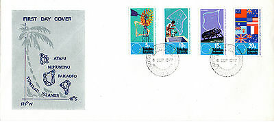 Tokelau Islands 6 September 1972 South Pacific Commission First Day Cover