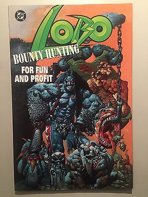 Lobo Bounty Hunting For Fun And Profit 1995 Dc  Comics